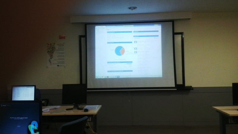 Projector at Cognizant