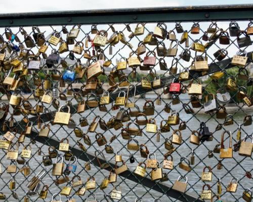 Paris locks