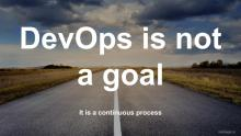 DevOps is not a goal