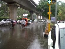 Monsoon Rain of 2012 in Delhi