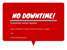 Graceful Restart Apache