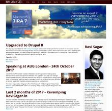Ravi Sagar Website 2017 Revamp